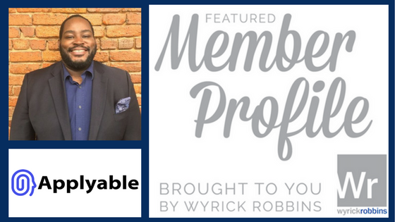 Meet Your Neighbors: Raymahl Sutton with Applyable
