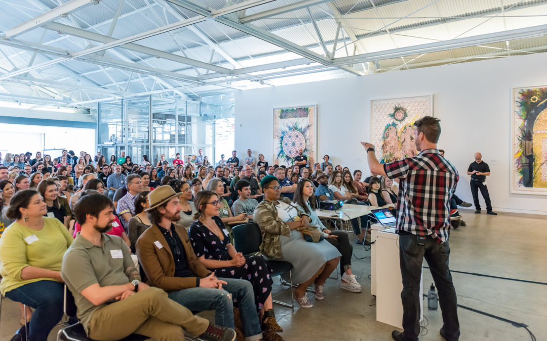 CreativeMornings brings monthly inspiration from Triangle leaders to CAM